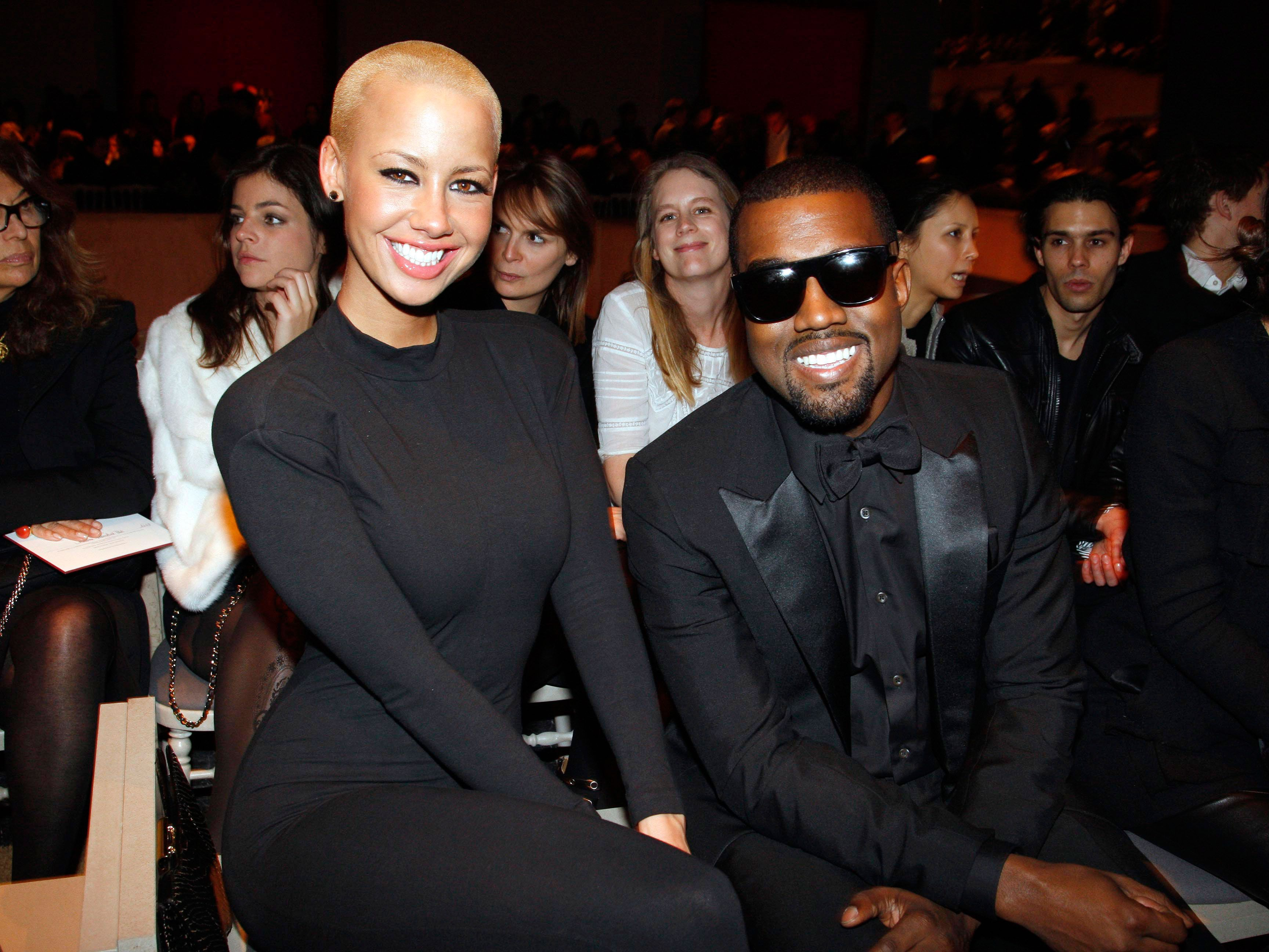 2e3dc389f 14 Photos of Kanye West and Amber Rose in Happier Times