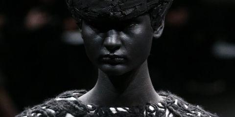 Lip, Skin, Style, Headgear, Eyelash, Flash photography, Portrait photography, Portrait, Model, Headpiece,