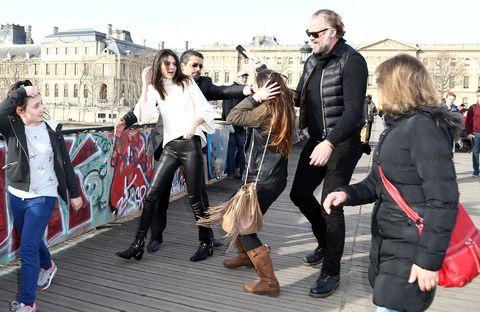 Amorous Superfan Attacks Kendall Jenner in Paris