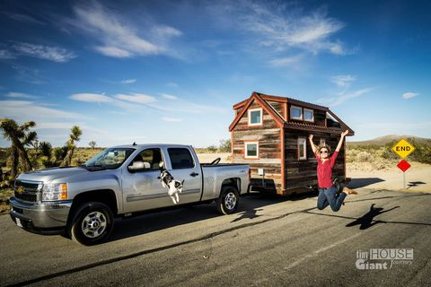 Meet the Couple Who Have Taken Their Tiny House on the Road