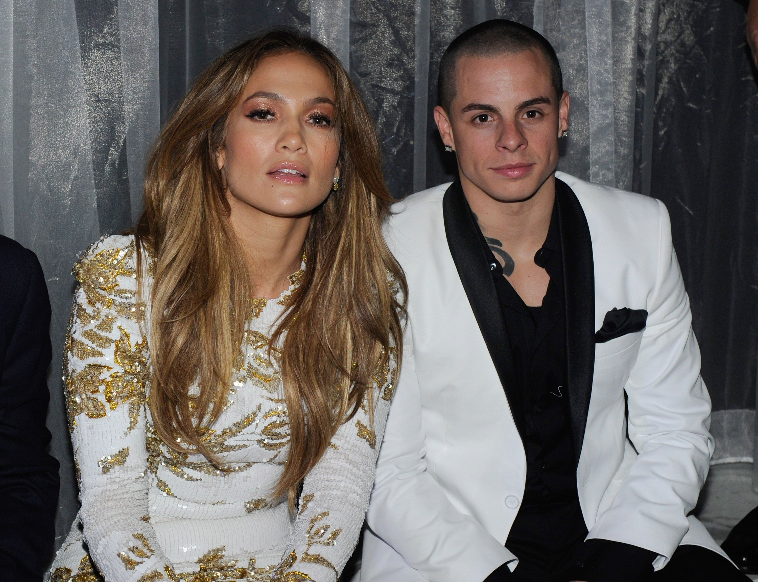 J.Lo and Casper Smart Are Maybe Kind of Back Together photo