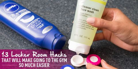 13 locker room hacks that will make going to the gym so much easier
