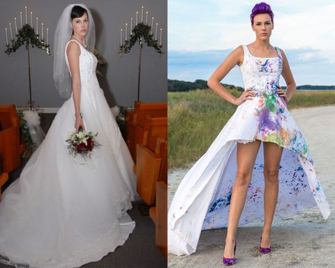 11 Wedding Dress Transformations You Have To See Believe