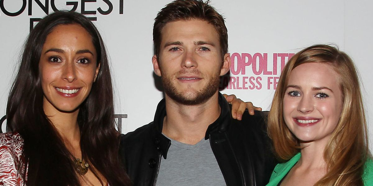 Scott Eastwood And The Cast Of -3918