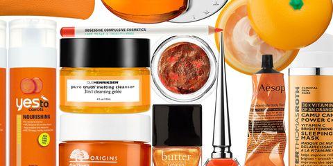 Product, Orange, Brown, Yellow, Liquid, Peach, Amber, Tan, Logo, Beauty,
