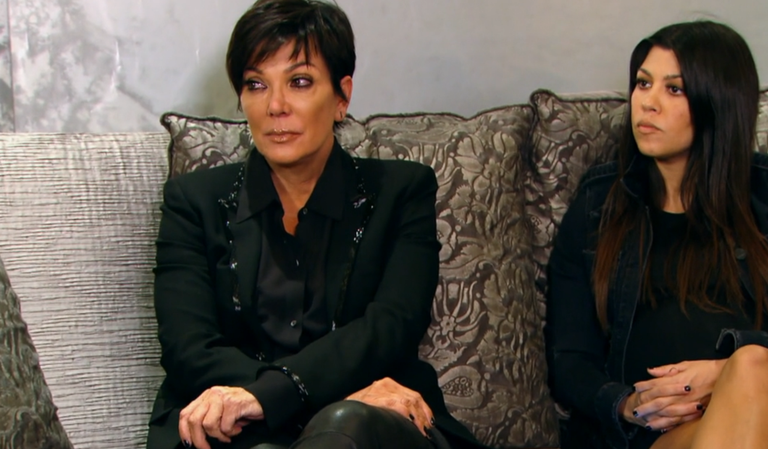 Kris Jenner Breaks Down in Tears Over Rob's Weight Gain and Depression