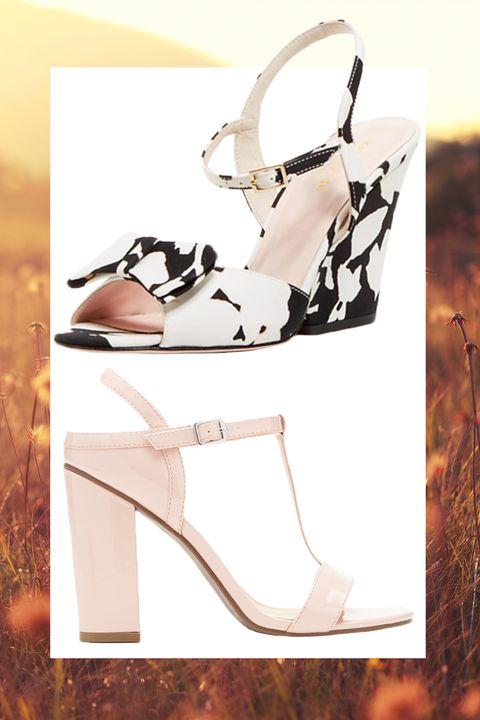 Footwear, Brown, Product, High heels, White, Sandal, Style, Basic pump, Fashion, Tan,