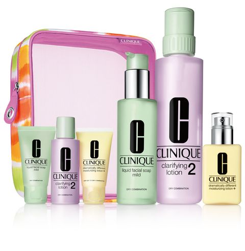 CLINIQUE Great Skin Home and Away Type 2,3 DOM
