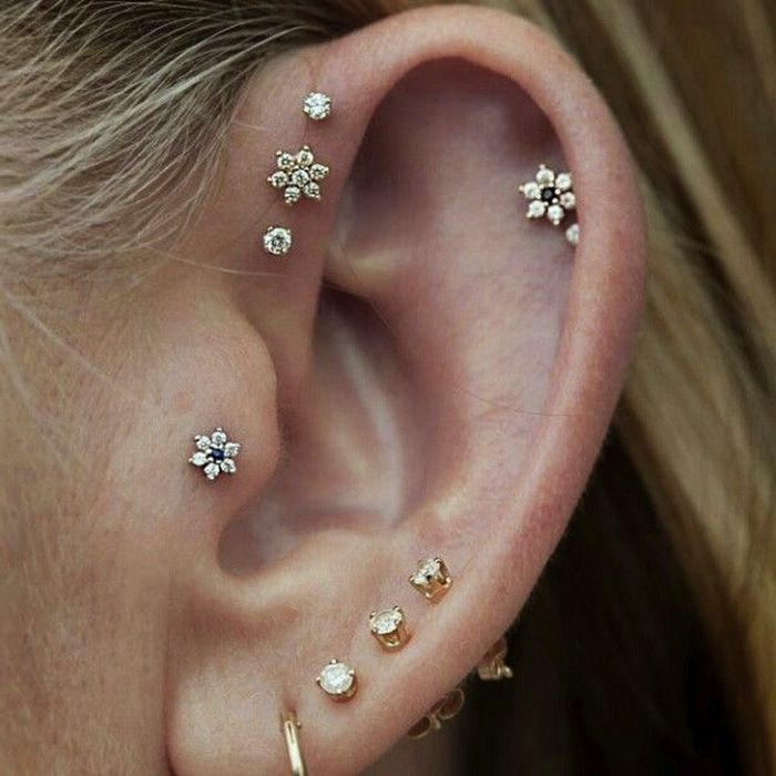 16 Ear Piercing Ideas That Will Make You Feel Bold and Beautiful
