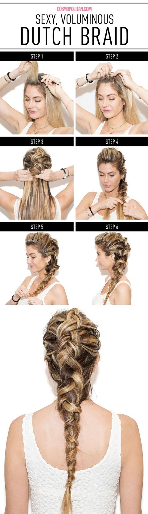 Dutch Braid How To Khalessi Braid Tutorial How To French Braid Inverted  Solution For How To 20easystepbystepsummerbraidsstyle