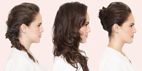 hairstyles for when you don't want to do your hair