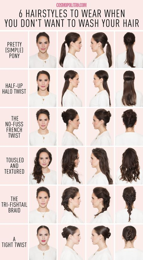 easy hairstyles using dry shampoo 6 hairstyles for when you just