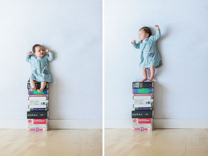12 Genius Photos of a Dad and His Baby That Will Make You Do a Double Take