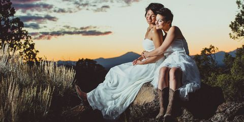 15 Beautiful LGBT Weddings That Will Make You Feel All the Feelings
