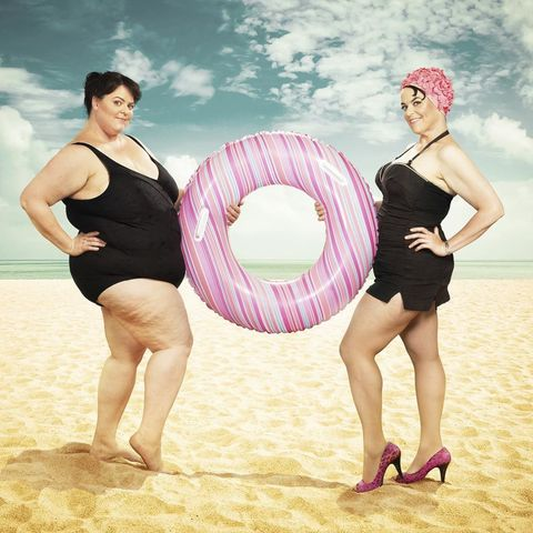 This Woman Has Some Amazingly Creative Before and After Weight Loss Photos