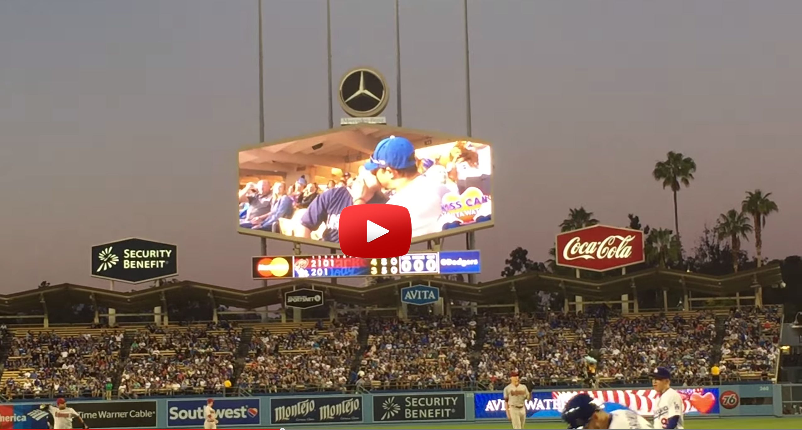 Cam Gay watch this gay kiss on kiss cam cause pandemonium in dodger