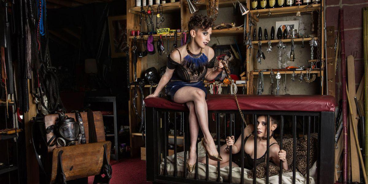 Bdsm slave dress-8667