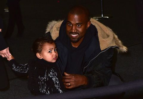 "Kanye and North Actually Appeared on ""Keeping Up With the Kardashians"" and They Were Adorable"