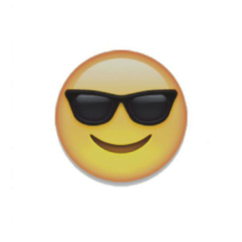 this guy is basically the sunglasses emoji in real life