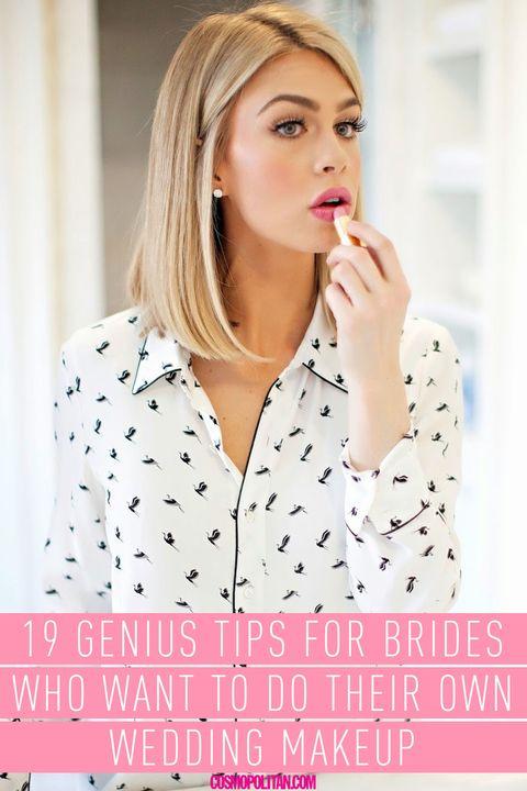 19 Diy Wedding Makeup Tips How To Do Your Own Bridal Makeup