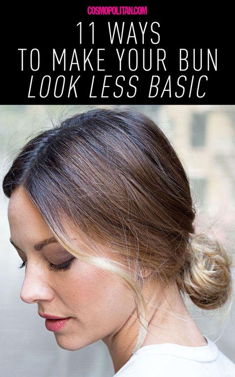 11 Ways To Make Your Bun Look Less Basic