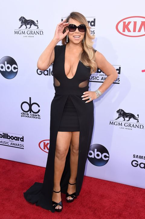 Mariah Carey's Billboard Music Awards Performance Left
