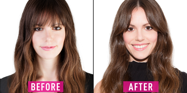 How To Grow Out Bangs Best Hairstyles For Growing Out Your Bangs