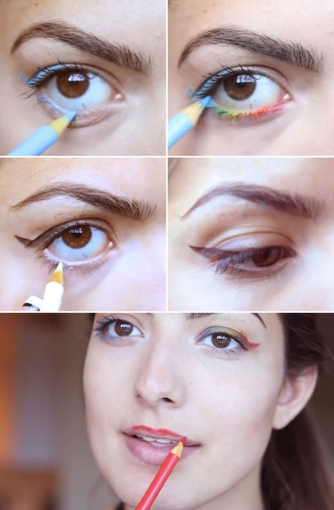 you should stop using crayola colored pencils as eyeliner