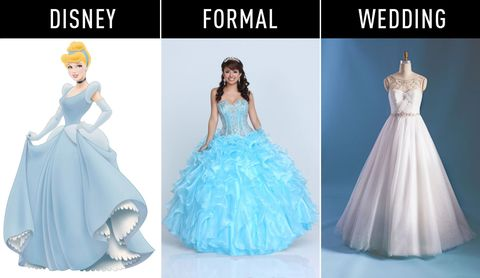 Disney Princess Inspired Dresses | Weddings Dresses