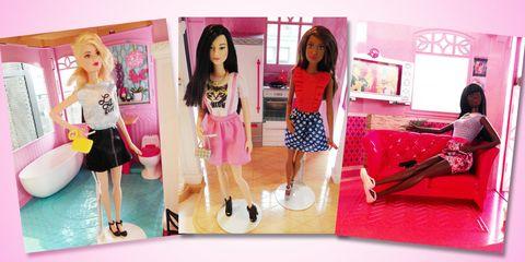 Leg, Pink, Style, Magenta, Fashion, Waist, Toy, Doll, Wig, Barbie,