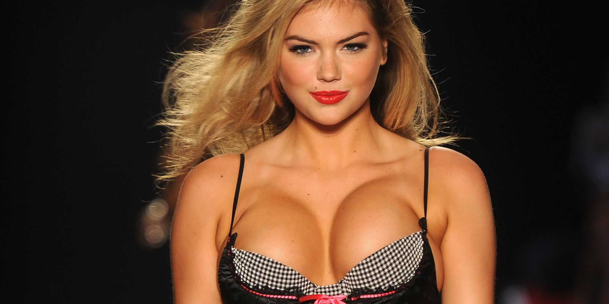 Kate upton had breast implants