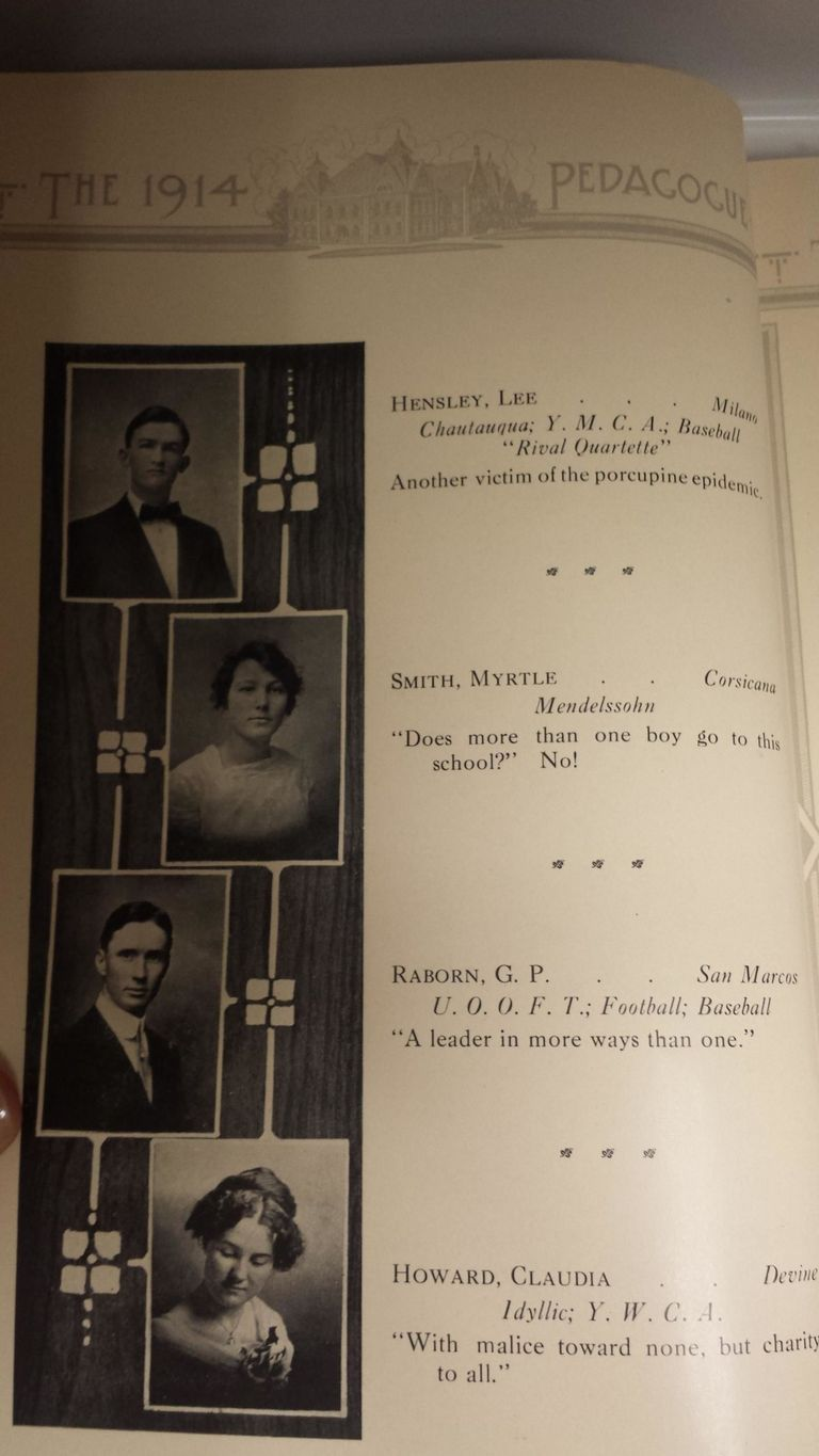 Senior Yearbook Quotes These Yearbook Quotes From 1914 Are Better Than You Can Even Imagine