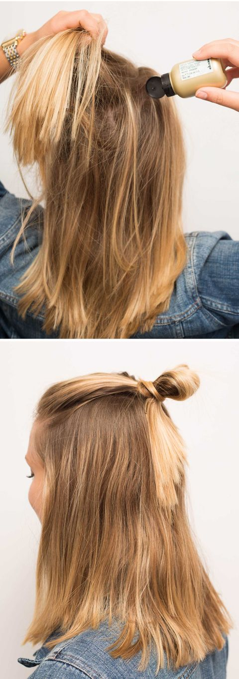 16 Half Bun Hairstyles For 2020 How To Do A Half Bun Tutorial