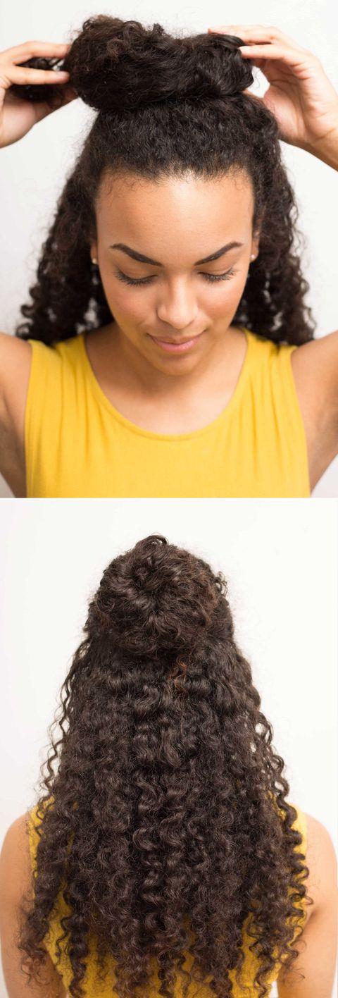 16 Half Bun Hairstyles For 2019 How To Do A Half Bun Tutorial