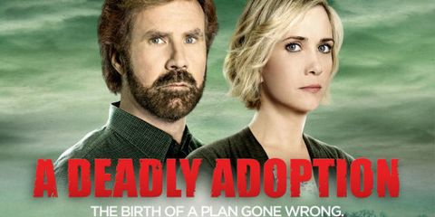 """Twitter Sort of Lost Its Mind Over Will Ferrell and Kristen Wiig's """"A Deadly Adoption"""""""