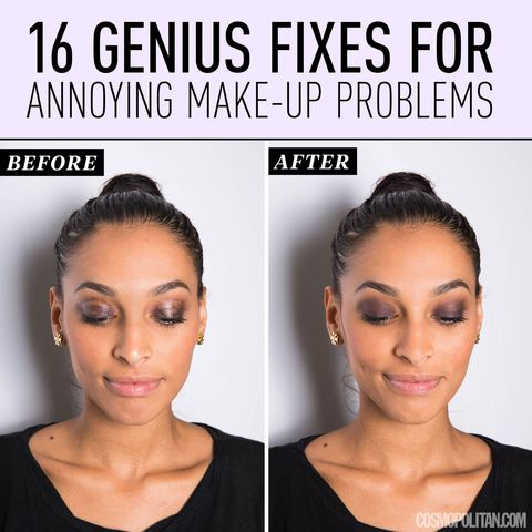 16 Genius Fixes for Annoying Makeup Problems