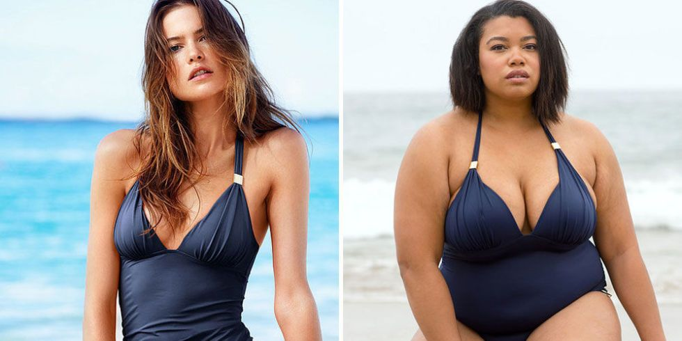 Here's What 6 Non-Models Look Like in Victoria's Secret Swimsuits