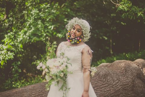 This Bearded Bride Photo Shoot Is the Most Breathtaking Thing You'll See All Day