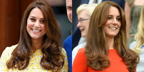 Kate Middleton Debuts Bronde New Hairstyle