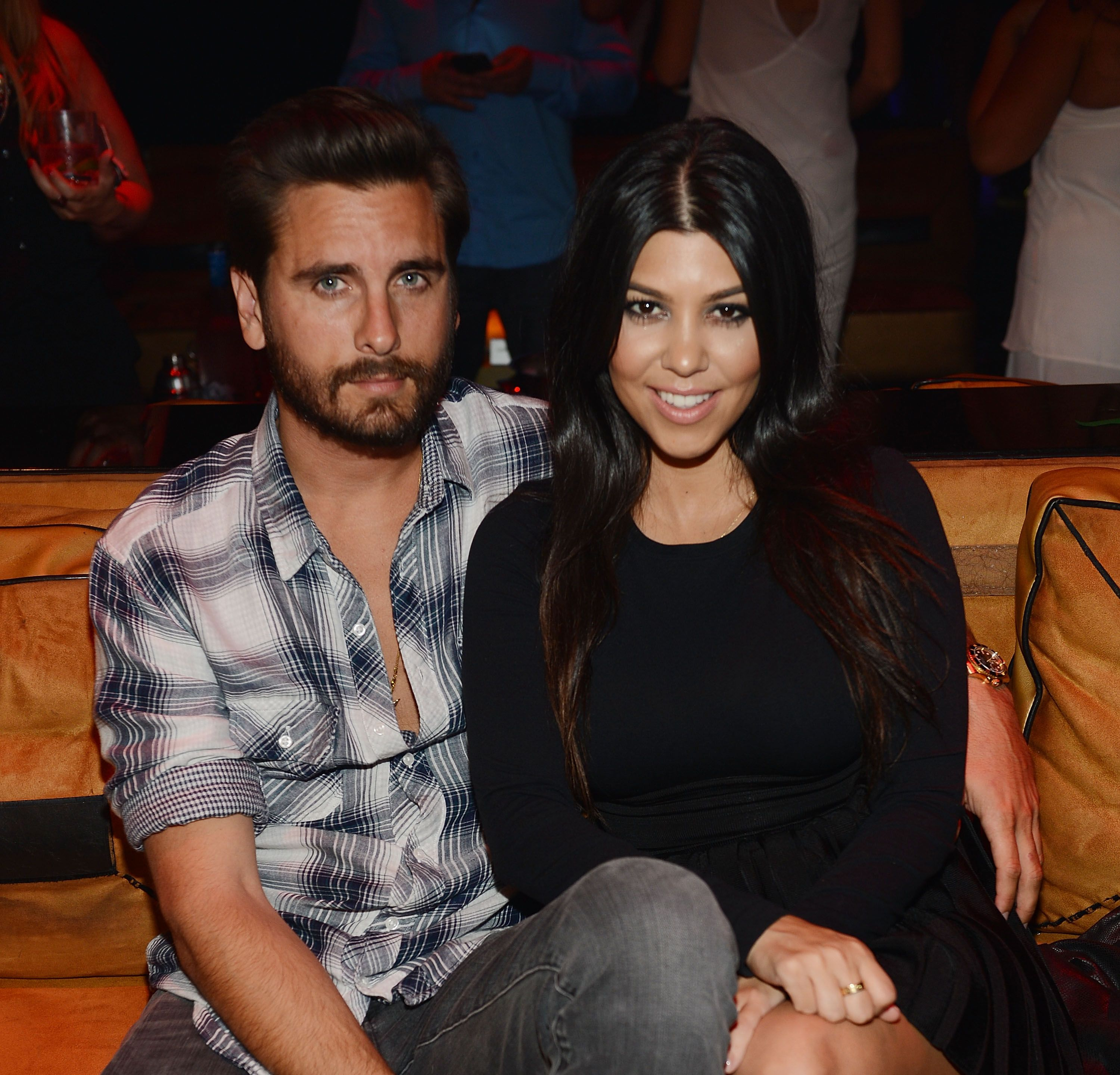 Kourtney and scott first started hookup