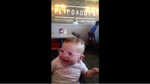 7ad5ec902c42 Little Girl Gets Glasses