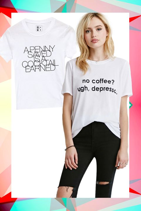 28 Graphic Tees That Pretty Much Sum Up Your Life