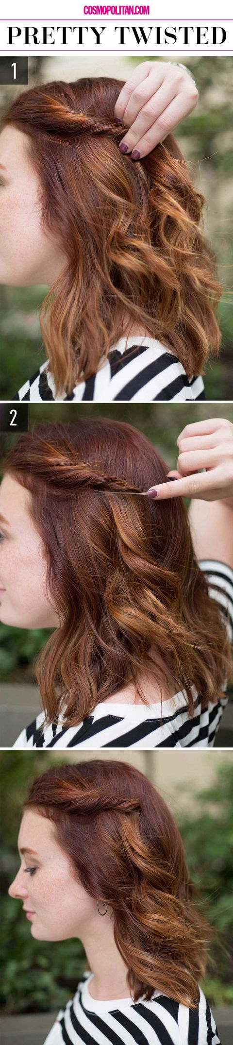 15 super easy hairstyles for 2018 three step hairstyles for girls pretty twisted solutioingenieria Choice Image
