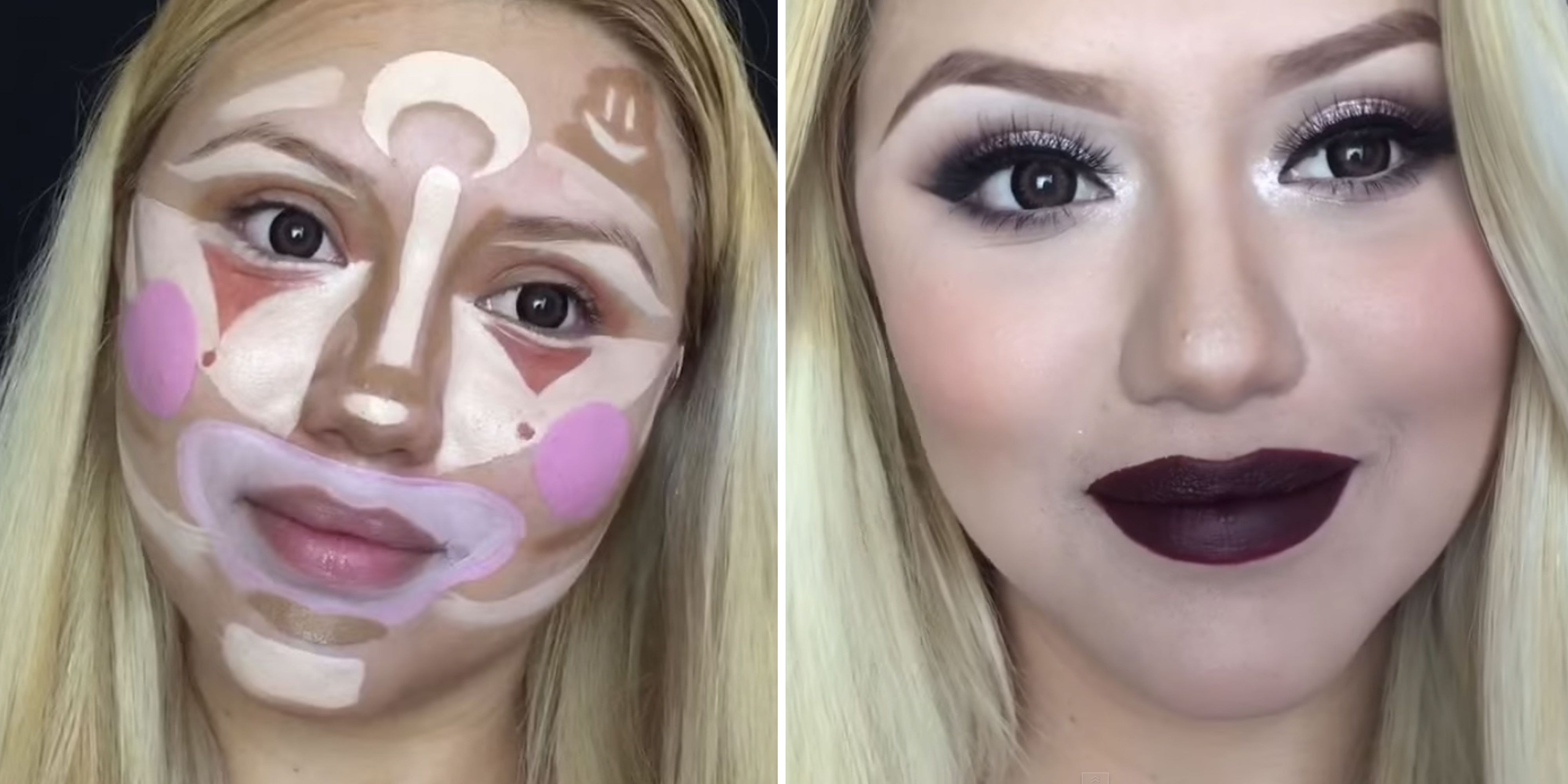 Clown Contouring Is the Next Makeup Trick That Will Make You