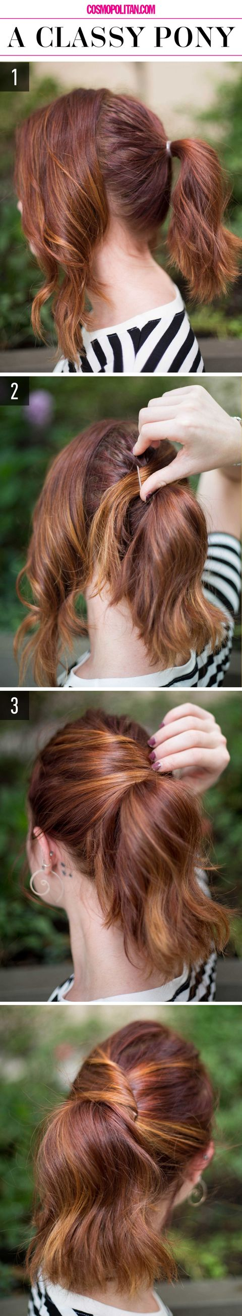 15 super easy hairstyles for 2018  three step hairstyles