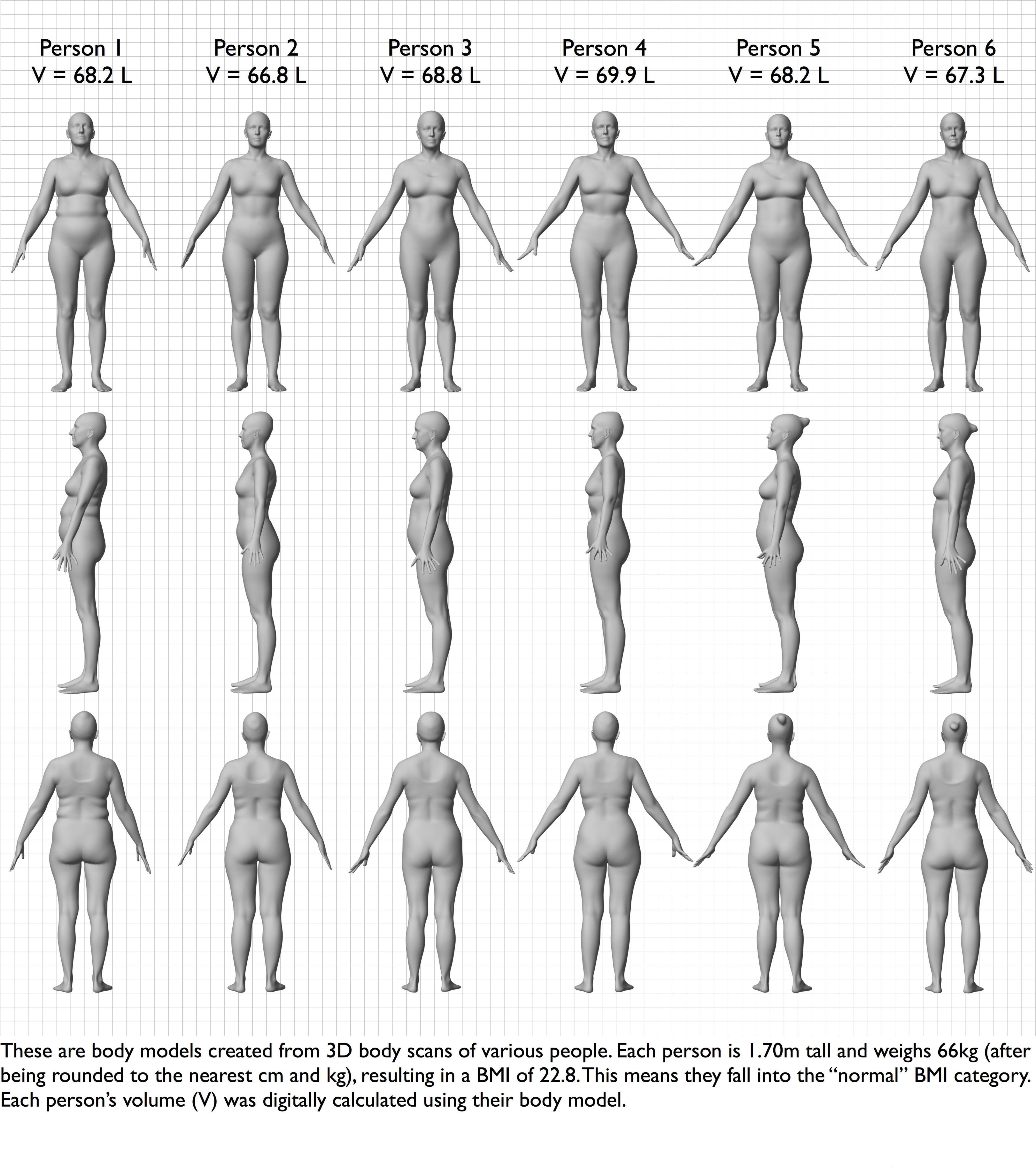 This 1 Chart Will Show You How Different Women Can Look