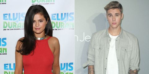 Selena Gomez and Justin Bieber Reportedly Spotted Getting Cozy by a Pool