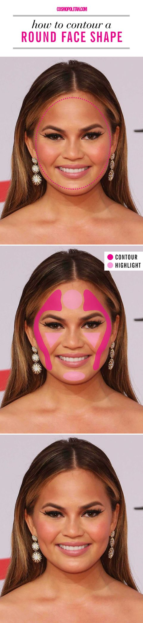How to contour for your face shape best way to use contouring getty images lauren ahn baditri Gallery