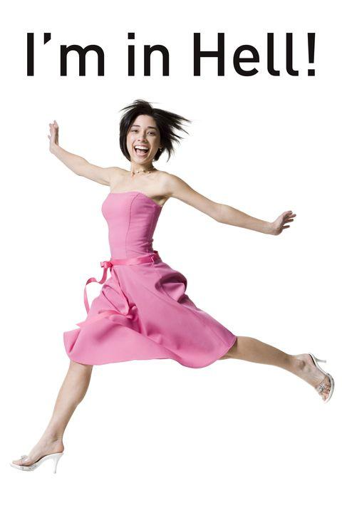 Finger, Dress, Shoulder, Hand, Joint, Performing arts, Magenta, Waist, One-piece garment, Pink,