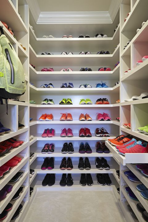 Khloe Kardashian Has A Huge Walk In Closet Devoted To Workout
